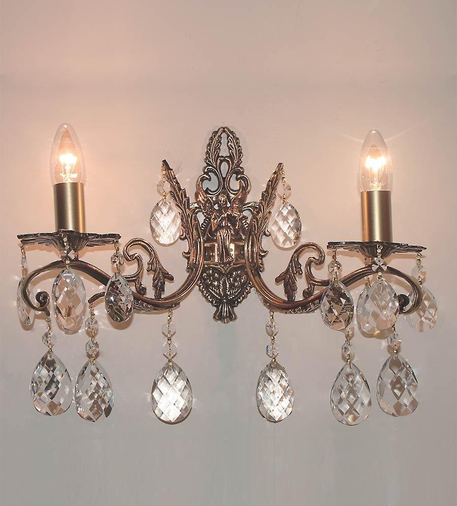 бра с ангелом 2 ламп