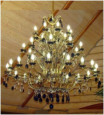 люстры для больших залов